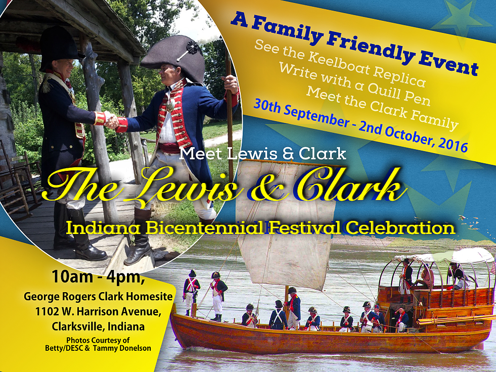 Lewis and Clark event poster 2016