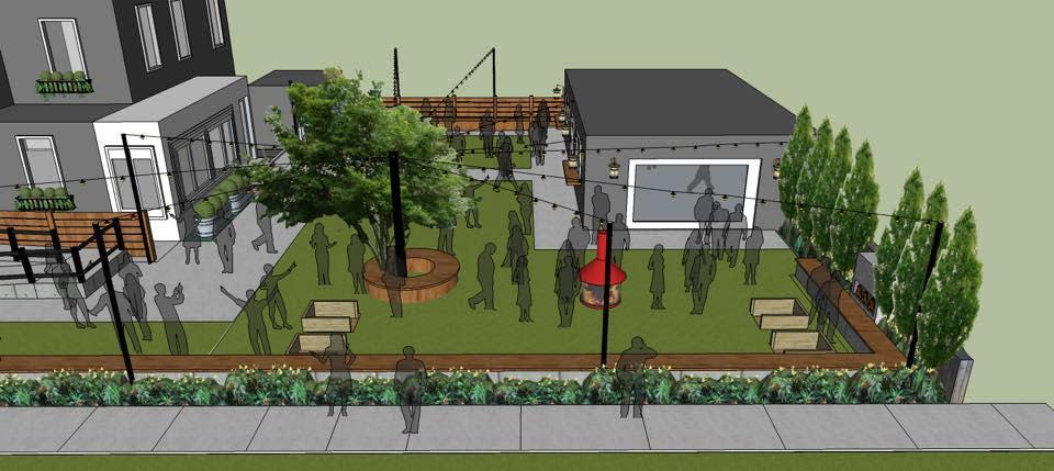 Parlour outdoor rendering