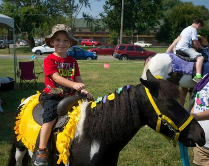 Steamboat days pony ride