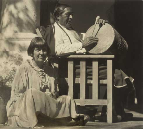 Mabel And Tony Luhan 1920