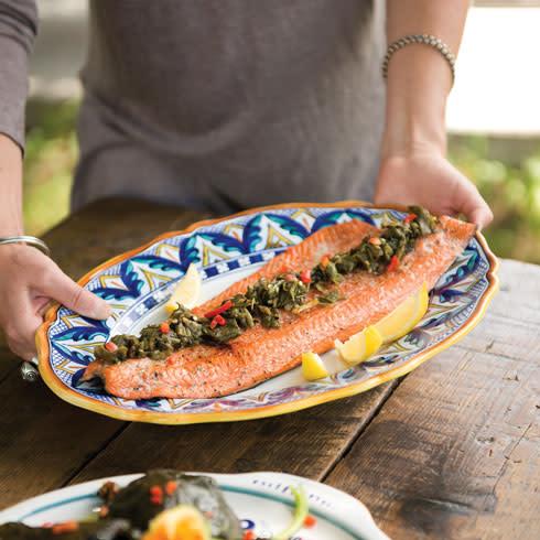 TNM Taos Cooking Class Salmon