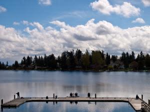 Angle Lake Polar Plunge