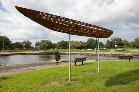 Odyssey Boat sculpture