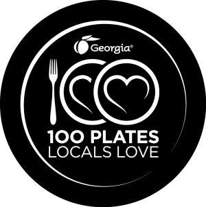 100 Plates Logo