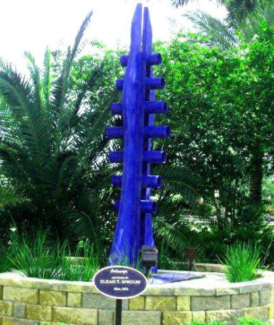Rise sculpture