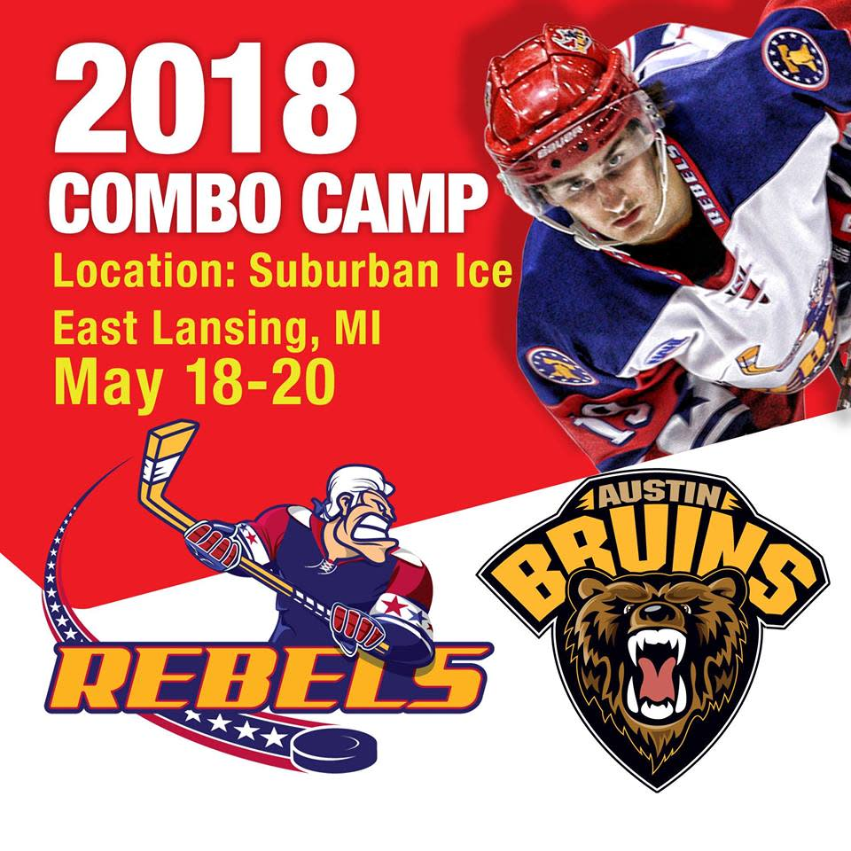 Image result for 2018 Combo Hockey Camp lansing