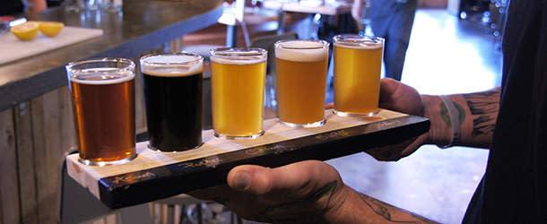 Beer tasting at BRU
