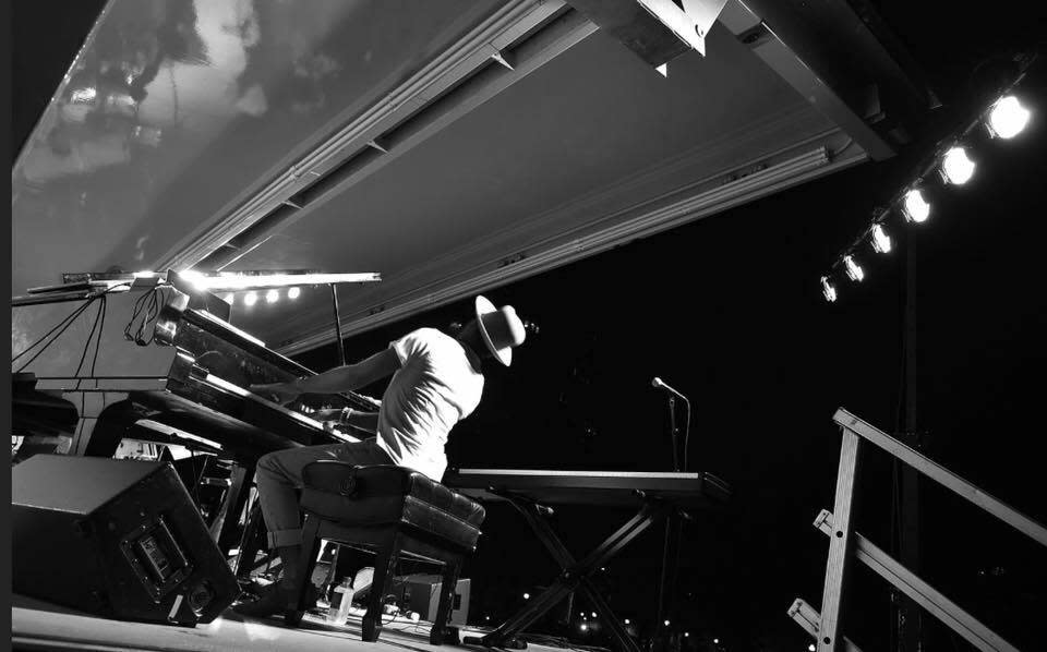 Piano prodigy Christian Sands