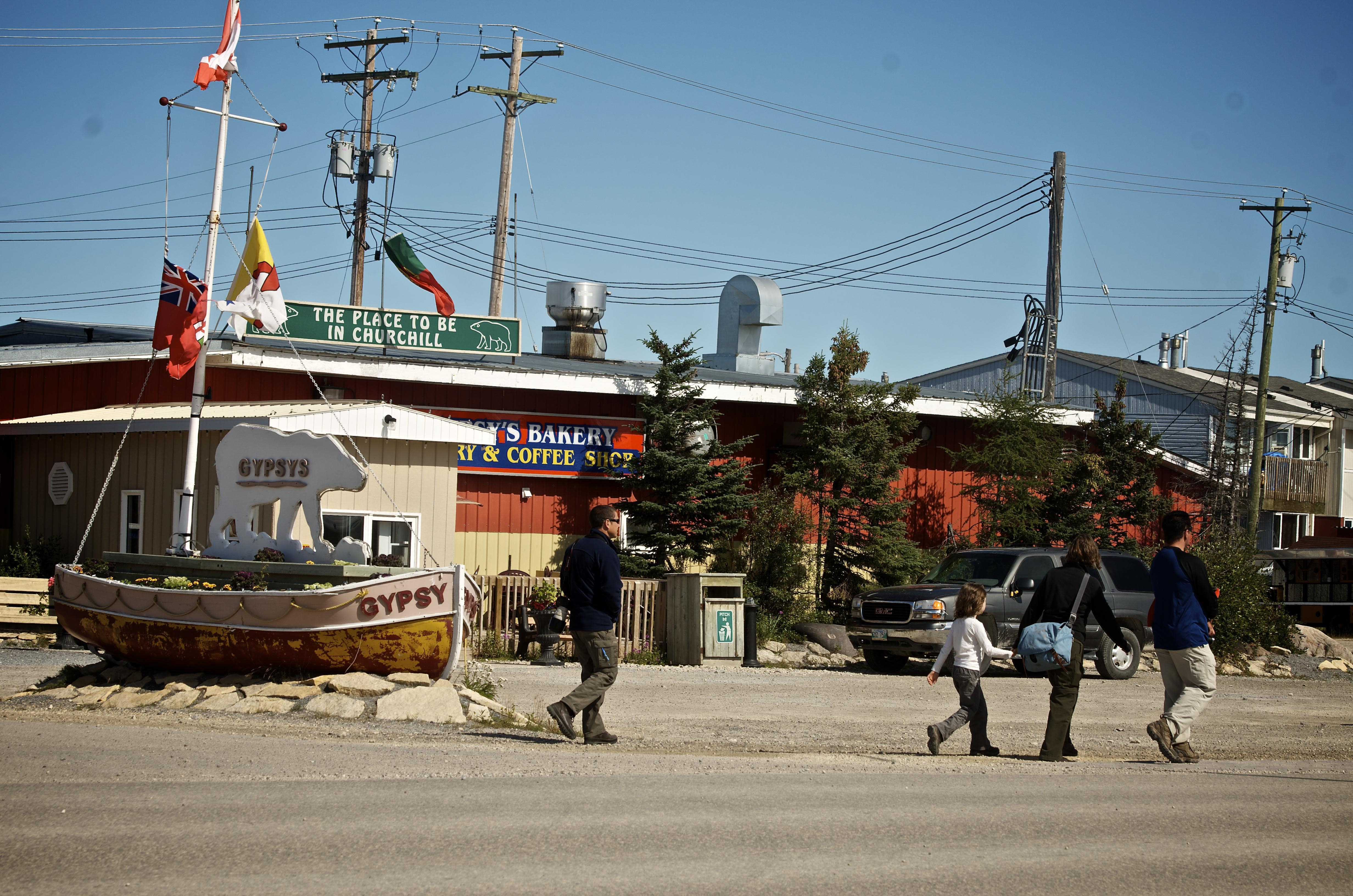 The town of Churchill, Manitoba