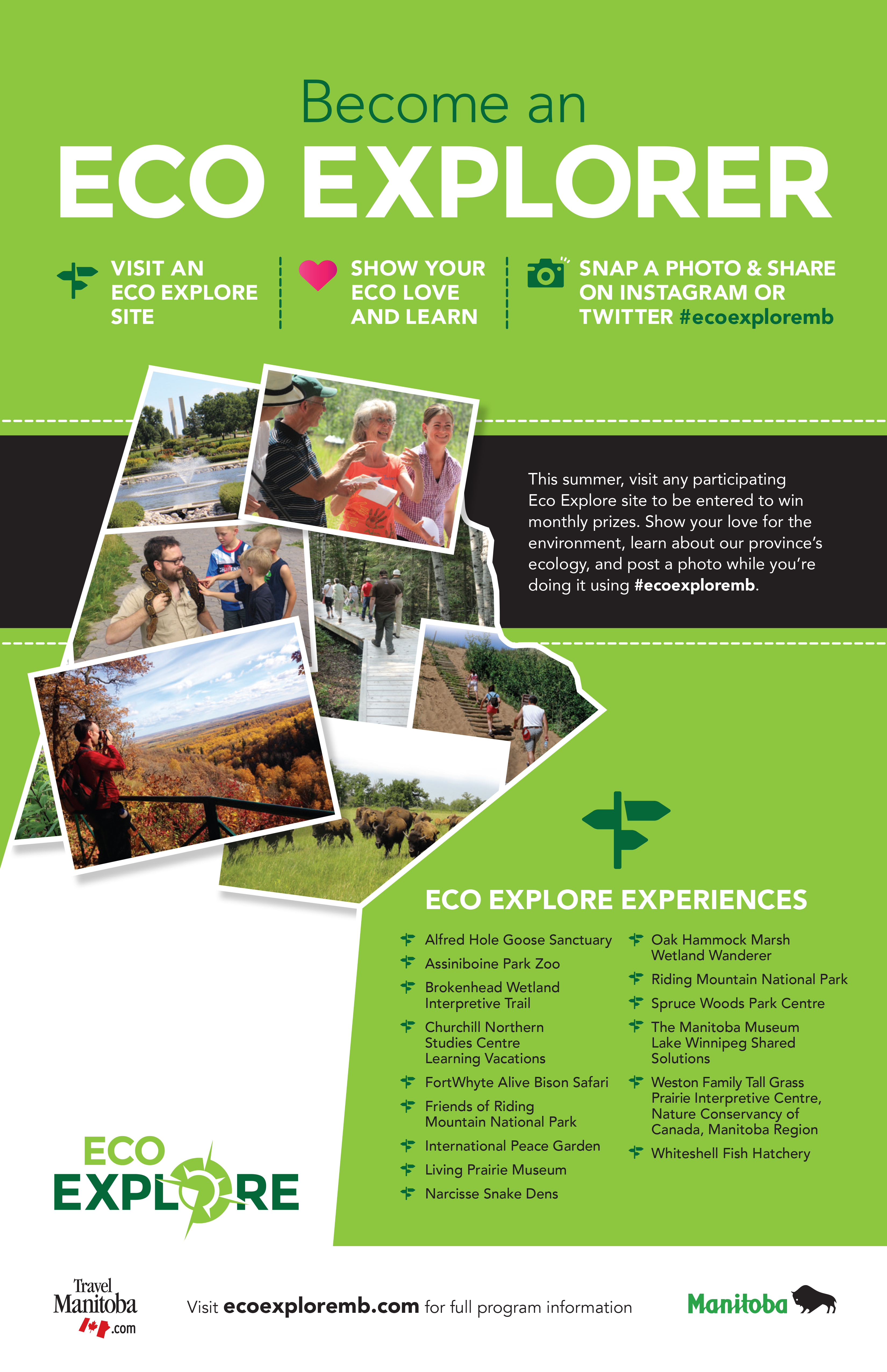 EcoExploreMB Program in Manitoba