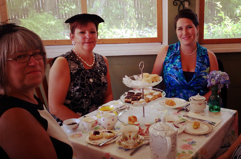 Fascinator High Tea at McLeod House