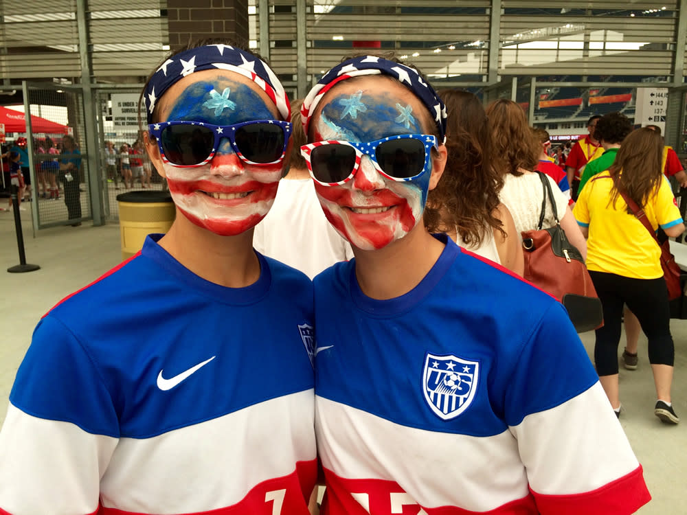 U.S.A. fans come out in full force at FIFA Women's World Cup Canada.