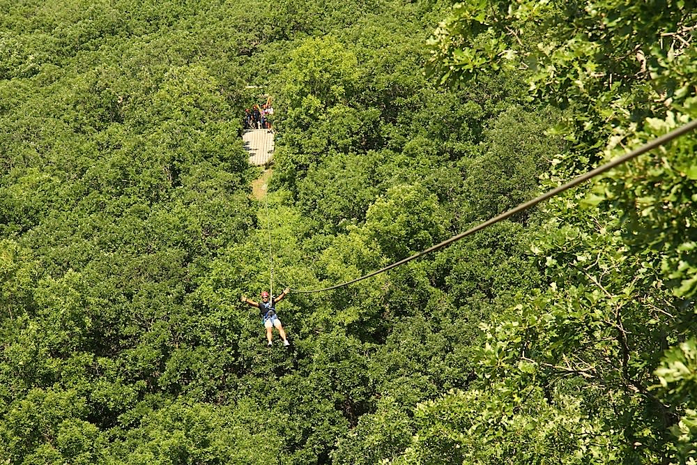 HyWire Zipline Adventures with BC Robyn.