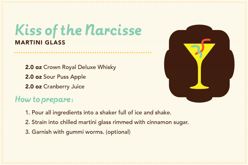 Manitoba cocktails: Kiss of the Narcisse