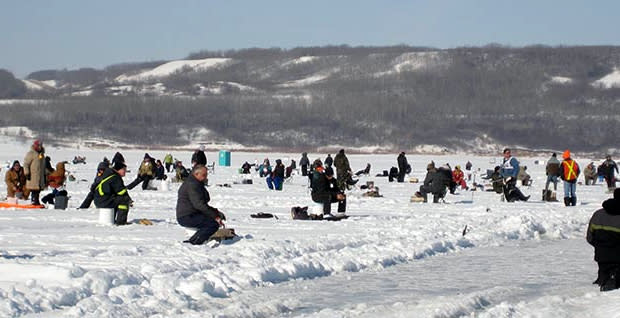 Lake of the Prairies Ice Fishing Derby