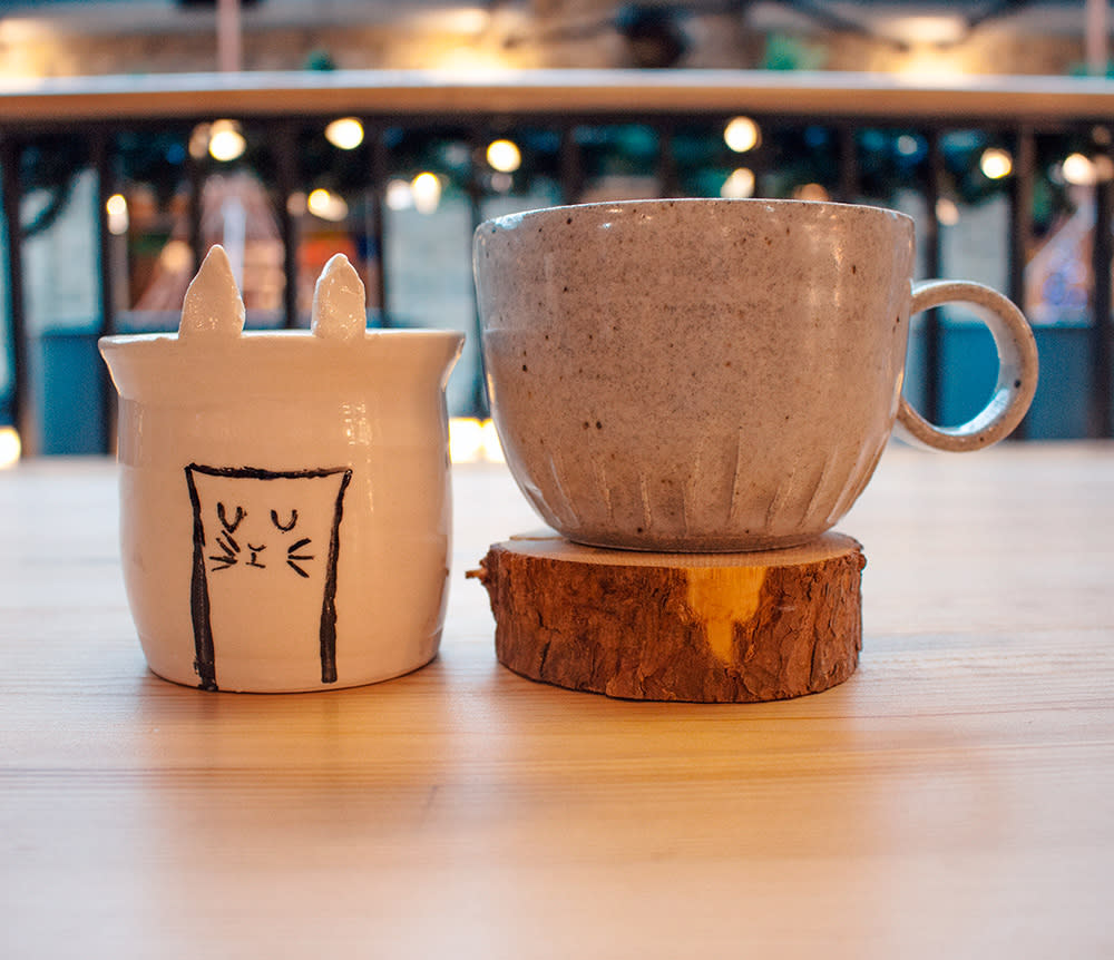 Mugs from The Forks Trading Company