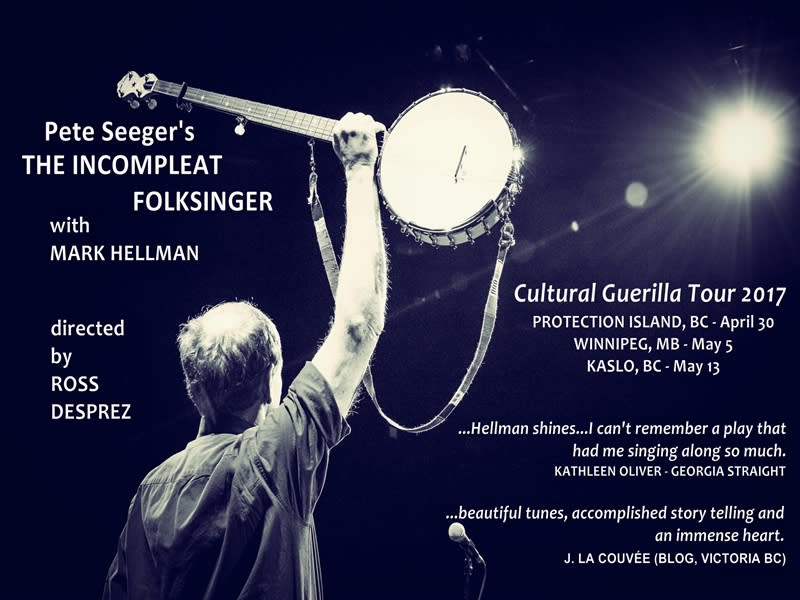 Pete Seeger's The Incompleat Folksinger with Mark Hellman