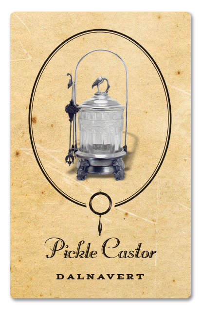 The pickle castor from the Dalnavert Museum.