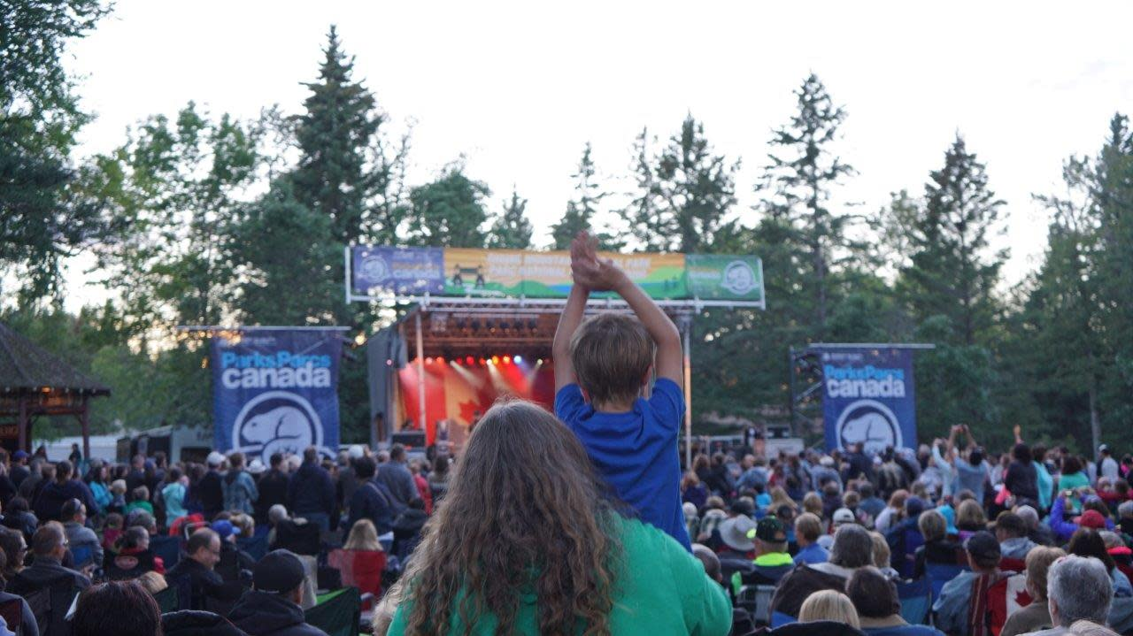 Free Concert in Riding Mountain National Park