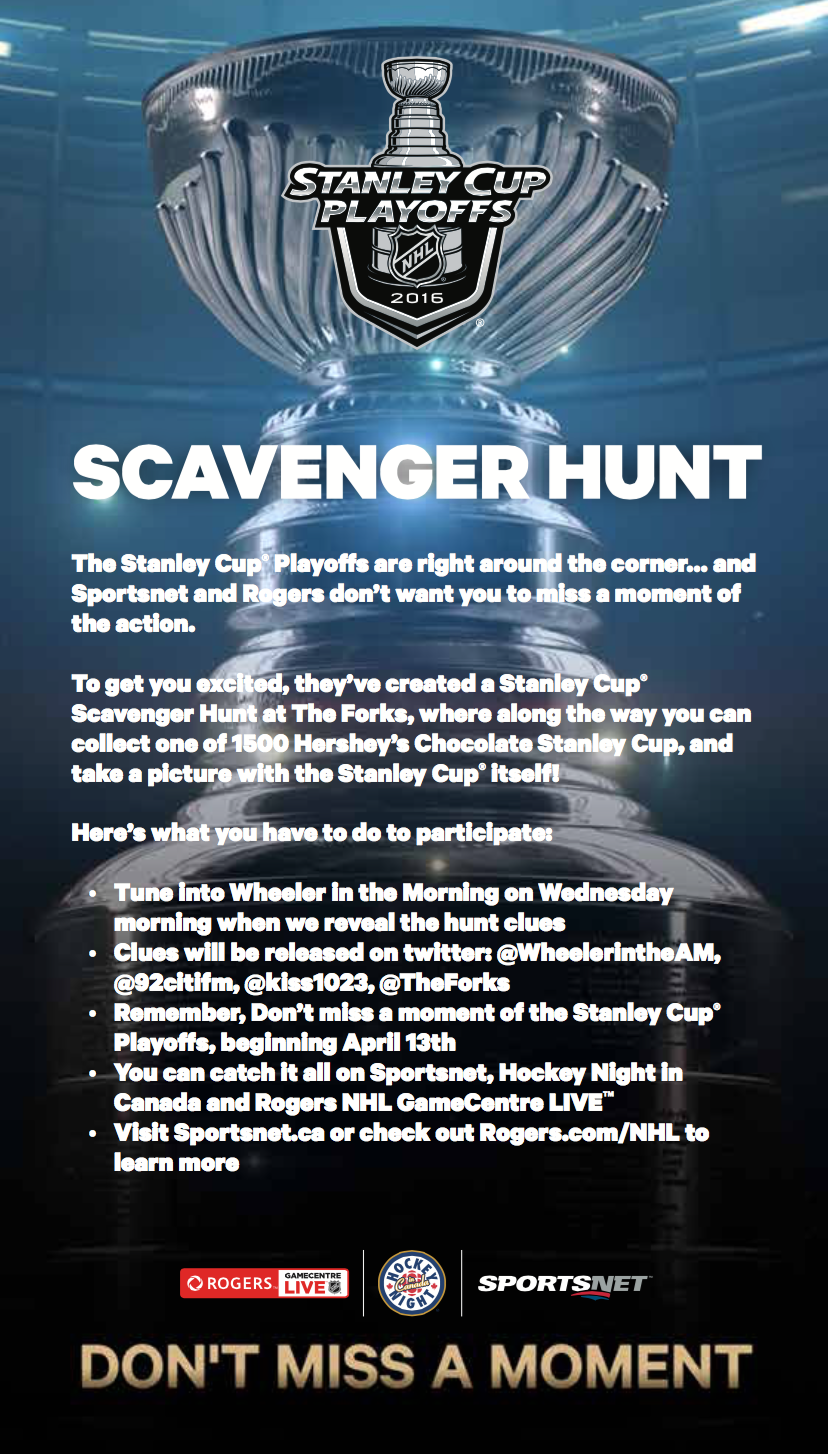 Hometown Hockey Winnipeg Scavenger Hunt