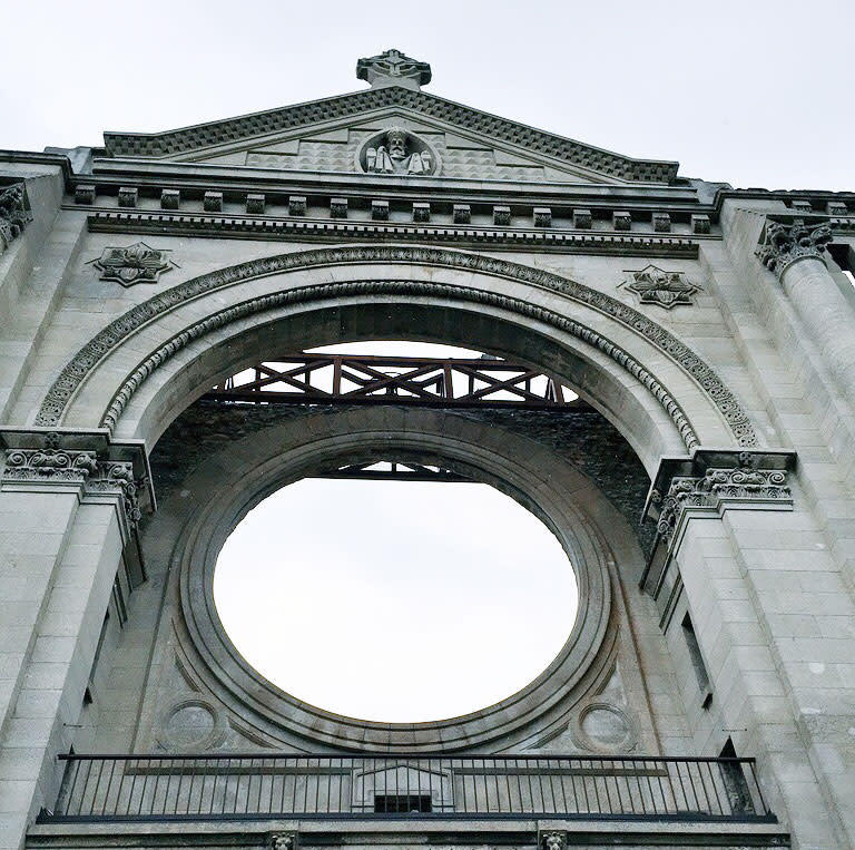 St. Boniface Cathedral in Winnipeg