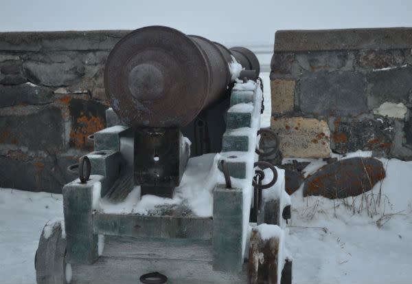 Cannon at Cape Merry