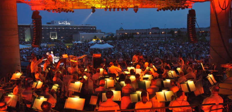 WSO at The Forks, Winnipeg
