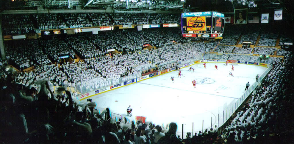 Winnipeg Jets Whiteout