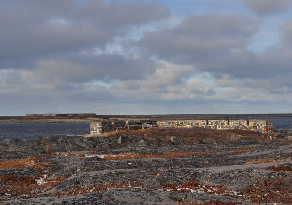 Cape Merry Battery & Prince of Wales Fort in Churchill, Manitoba