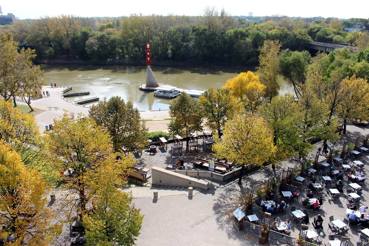 Fall at the Forks