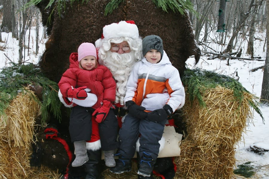 Santa Claus at FortWhyte Alive