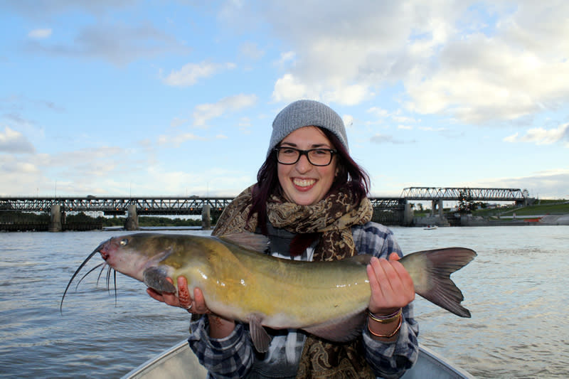 Catch a channel cat on the Red River