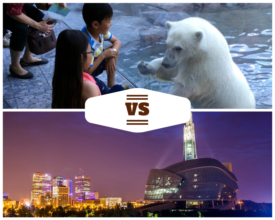 Assiniboine Park Zoo vs. Canadian Museum for Human Rights