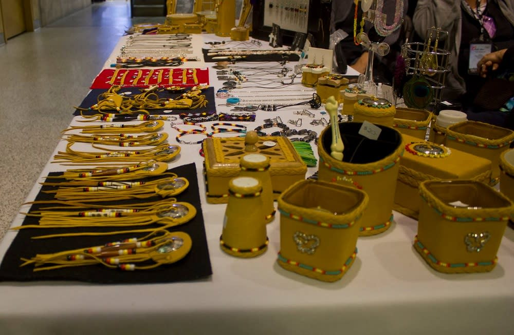 Indigenous Marketplace at Manitoba Ahbee in Winnipeg, Manitoba
