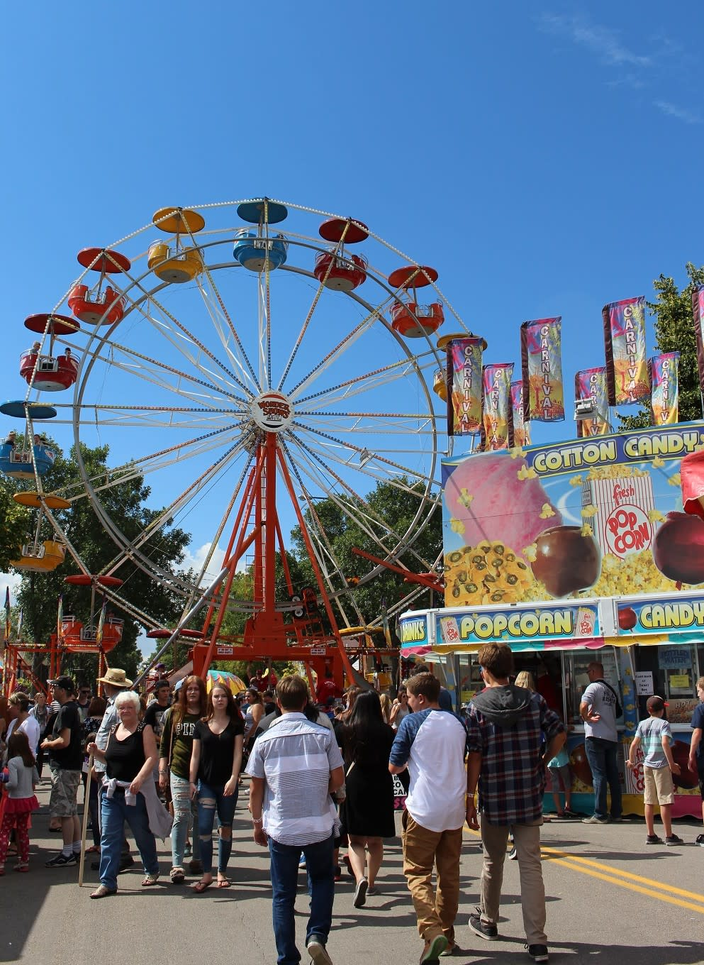 Midway at Morden Corn & Apple Festival, Manitoba