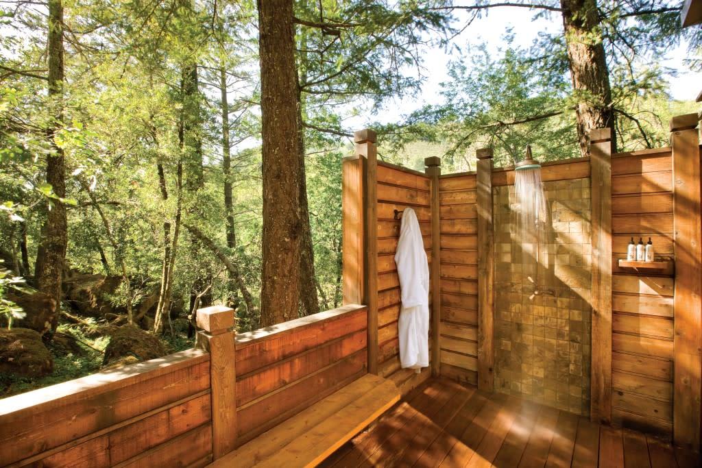 Calistoga Ranch Shower