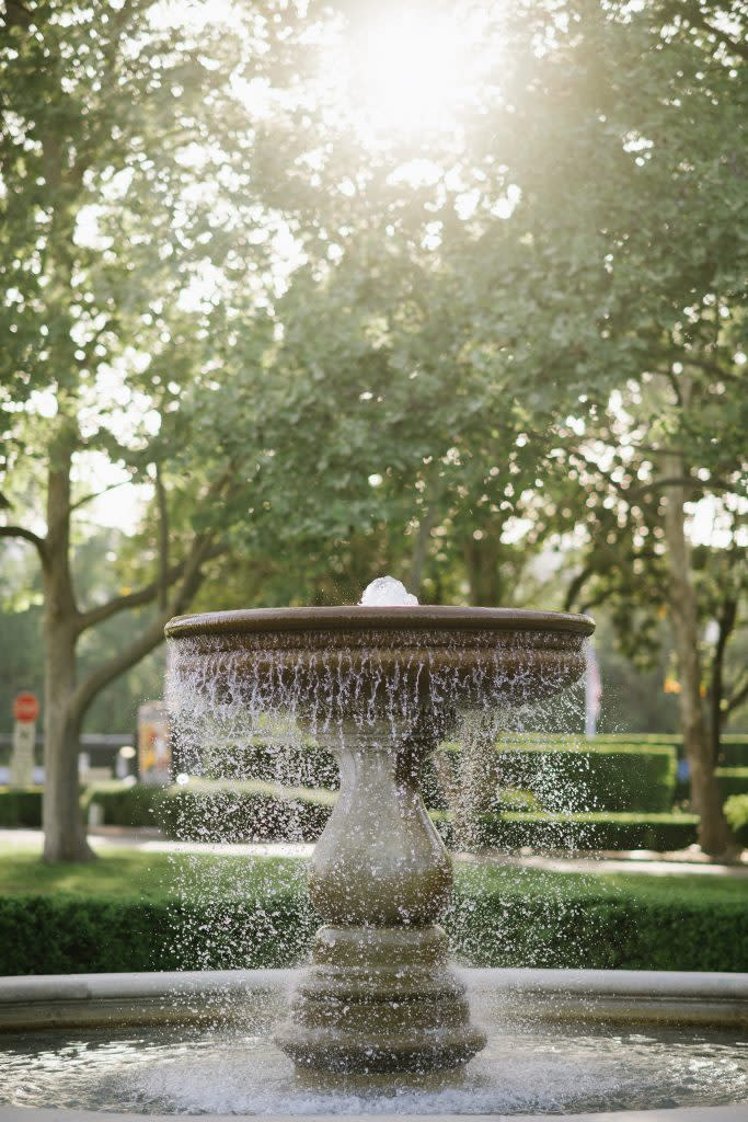 Merryvale Vineyards Water Fountain