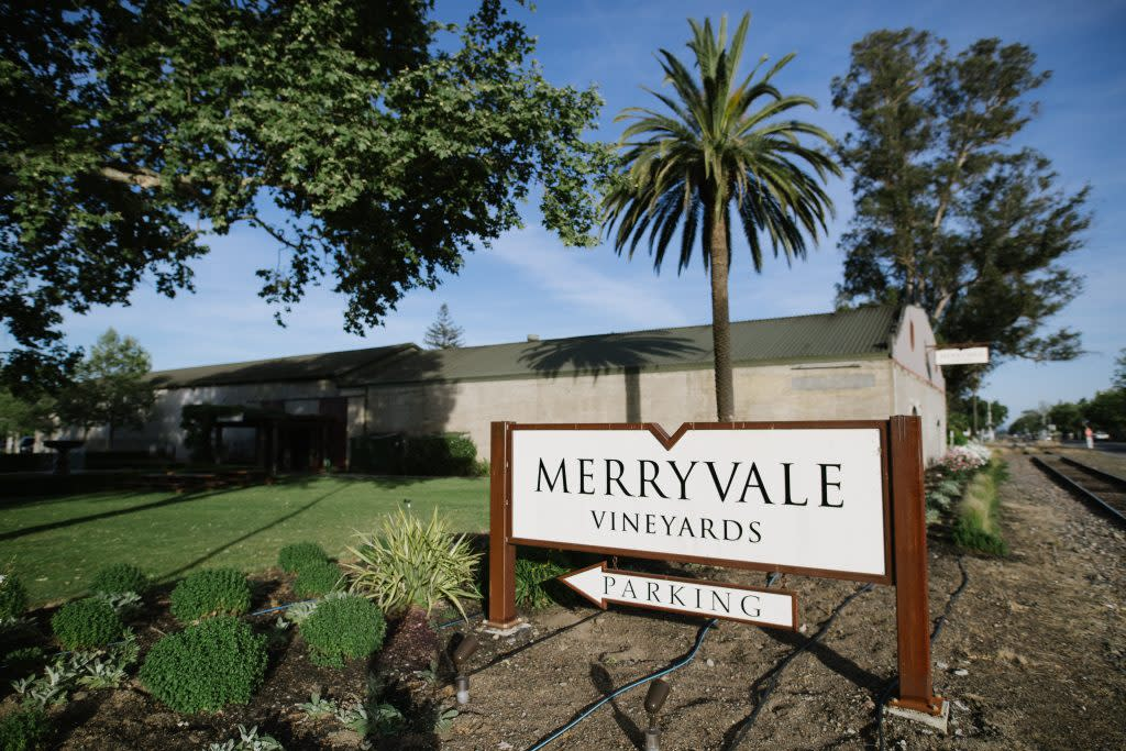 Merryvale Vineyards for events
