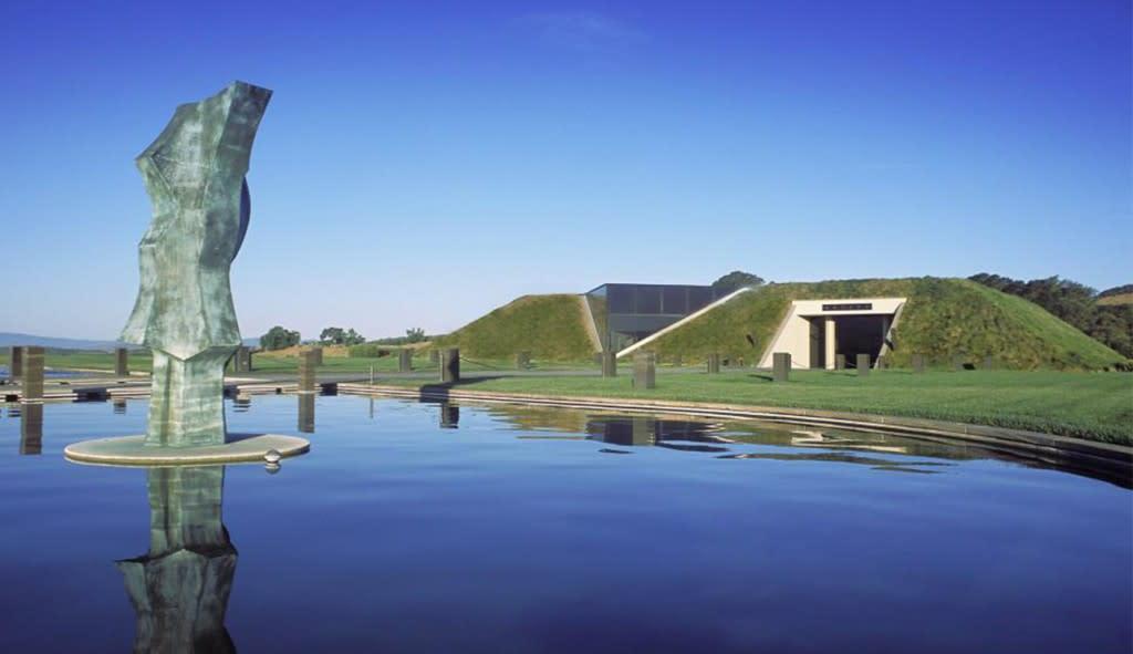 Modern Architecture - Artesa Vineyrads