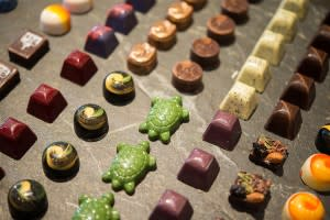 Celebrate National Chocolate Day in Napa Valley! Chocolates from The Culinary Institute of America at Greystone