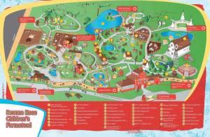 Map of Deanna Rose Children's Farmstead