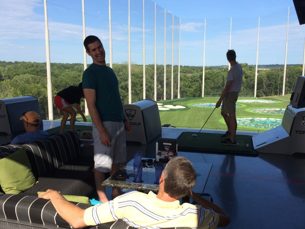Fun for Hours at Topgolf