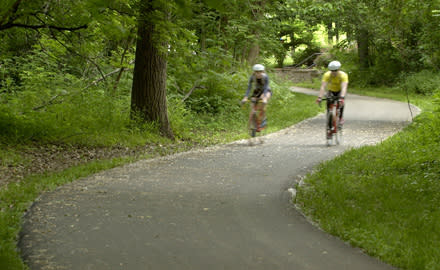 Hike and Bike Trails in Overland Park