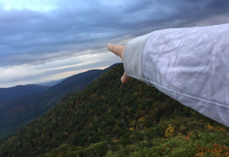 Skyline Shenandoah Mountains