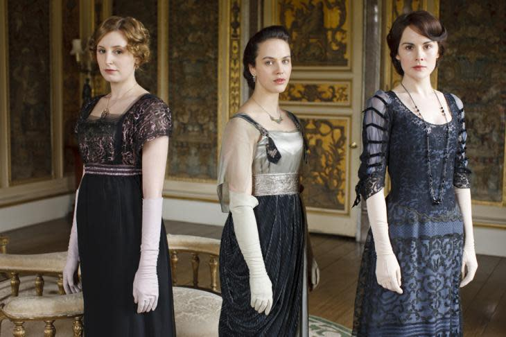 Costumes of Downton Abbey