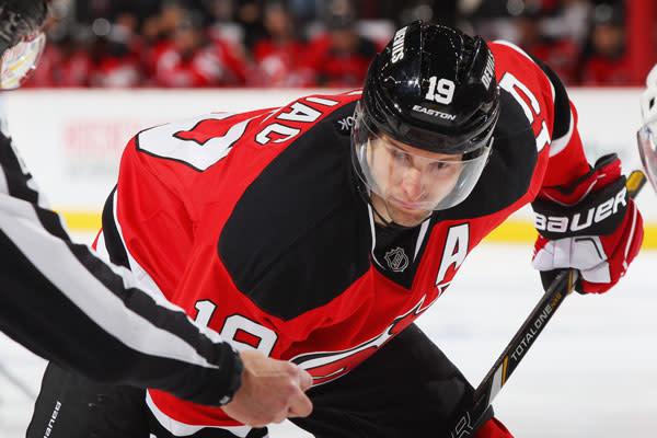 New Jersey Devils Hockey Player