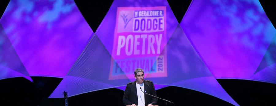 Geraldine R Dodge Poetry Festival Newark
