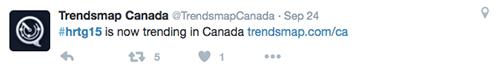 Hashtag Example