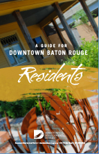 Cover of Guide for Downtown Baton Rouge Residents