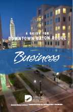 Cover of Guide for Downtown Baton Rouge Business